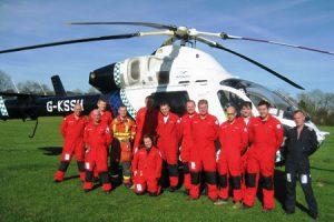 Kent, Surrey, Sussex Air Ambulance Charity