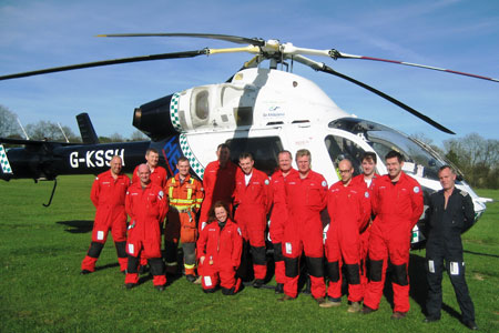 Kent, Surrey, Sussex Air Ambulance Charity